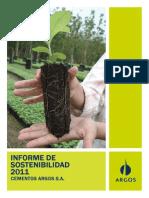 Informe Sostenibilidad Argos 2011