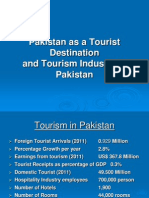 Pakistan as a Tourist Destination & Tourism Industry in Pakistan-2011