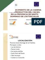 Fortalecimiento de La Cadena Agroproductiva Del Cacao Final Santo Domingo de los Tsachilas