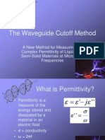 The Waveguide Cutoff Method