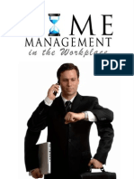Ravinder Tulsiani - Time Management in the Workplace