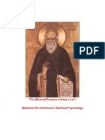 Saintt Maximus the Confessor On the Passions