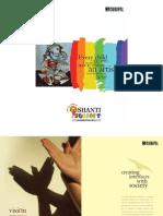 'Shanti Juniors' e - Brochure