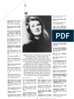 Angela Carter Interview - Marxism Today 1991