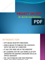 Project on Dtpppnew