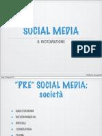 Social, Facebook e Twitter