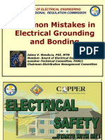 Common Mistakes in Electrical Grounding and Bonding