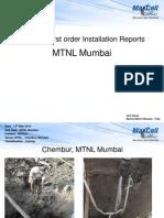 MTNL Mumbai Installs Report Mumbai 15th May 2010