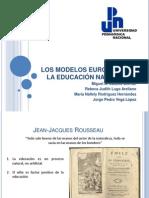 LOS MODELOS EUROPEOS DE LA EDUCACIÓN NACIONAL