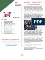 Newsletter 386
