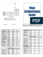 Ecd Checklist Final(Printable)