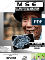77204429 Mini Mental State Examination MMSE