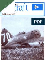 Profile 122 Polikarpov I 16