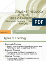 Introduction to New Testament Theology