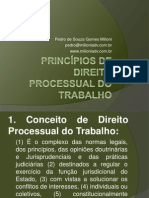 Aula Principios Direito Processual Trabalho