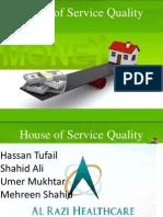 House of Service Quality of Al-Razi Health Care