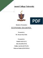 Final Report of Economic Diamond
