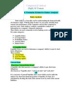 Definitions & Formulas