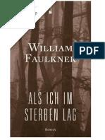 William Faulkner - Als Ich Im Sterben Lag