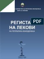 Registar Na Lekovi 2012