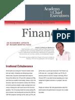 Roger Martin Fagg, Economic update, Feb 2013