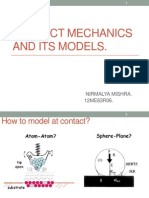 Contact Mechanics and Its Models