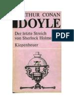 Doyle, Arthur C. - Sherlock Holmes 4 - Der Letzte Streich Von Sherlock Holmes