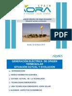 Generacion Electrica de Origen Termosolar
