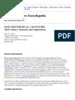 Electrochemistry Encyclopedia -- Electrochemical Capacitors