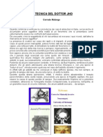 La Tecnica Del Dottor Jho - Corrado Malanga