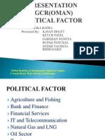 Group 1 Oman Politicla Factor