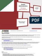 mapas mentais direito administrativo - princípios