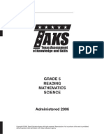 Taks Test Grade5
