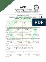 Appsc Common Ce Me Paper II