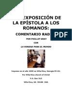 Una Exposicion de la Epístola a los Romanos