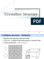 L-5 Crystalline Structure