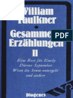 Faulkner, William - Gesammelte Erzählungen II