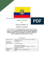 Historia Ecuador