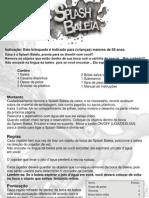 Manual Splash Baleia