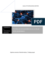 Tutorial Redes Neuronales