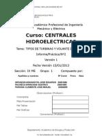 TRAB Nº2 TIPOS DE TURBINAS Y VOLANTE DE INERCIA