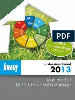 Knauf Solutions Energie 2013