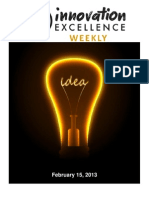 Innovation Excellence Weekly - Issue 20