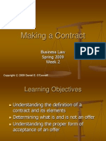 Business Law_Making the Contract(1)