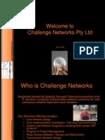 26112 Challenge Networks Presentation
