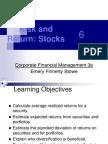 2 Risk and Return Stocks