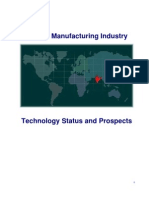 Indian Manufacturing Industry Technology Status and Prospects