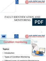 Fault Identification and Monitoring in rolling element bearing