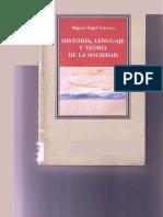 Historia, Lenguaje y Teoria de La Sociedad-Miguel a. Cabrera
