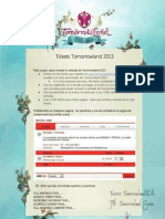 Guia Tomorrowland 2013